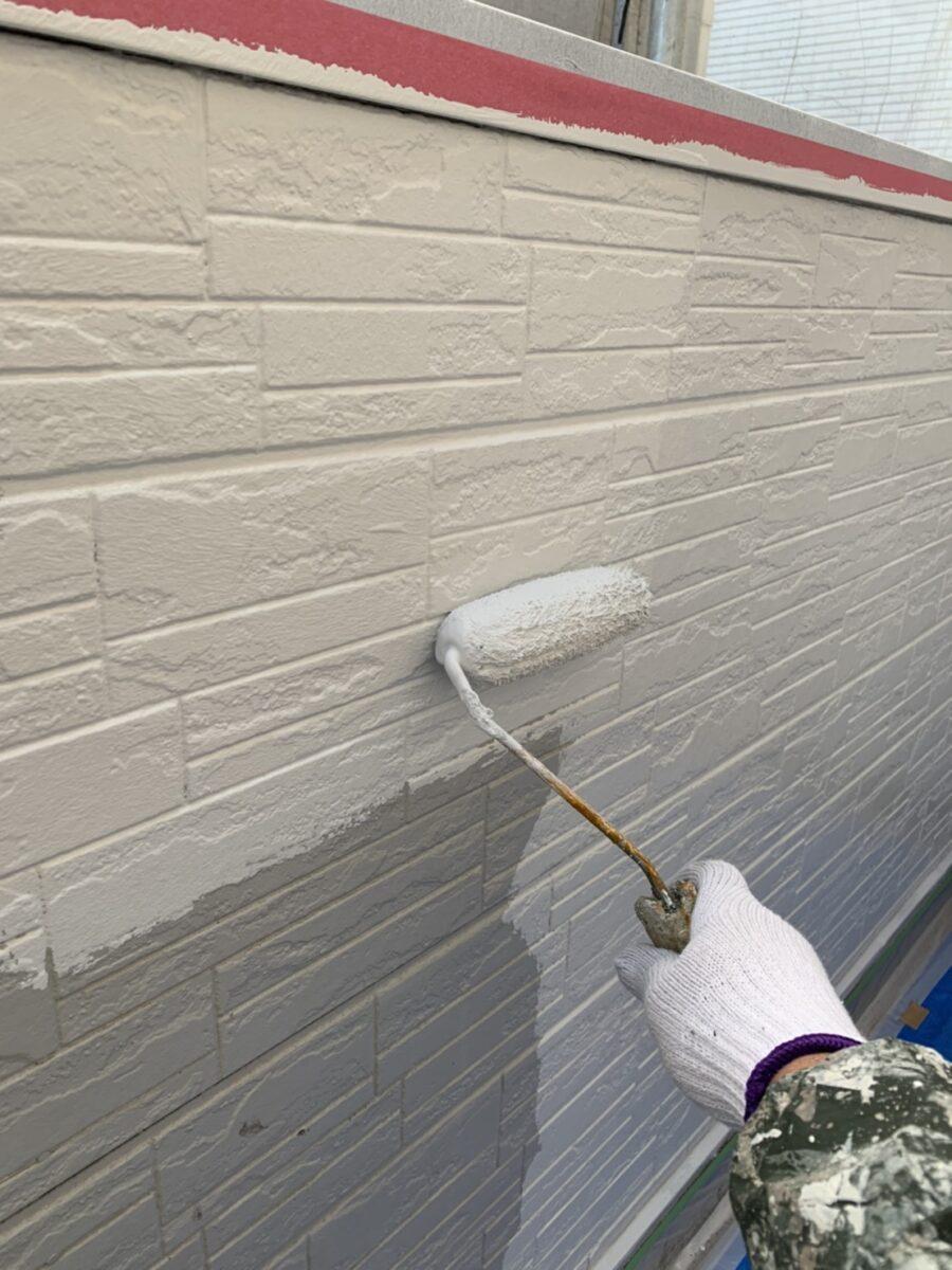 外壁通路面塗装の画像