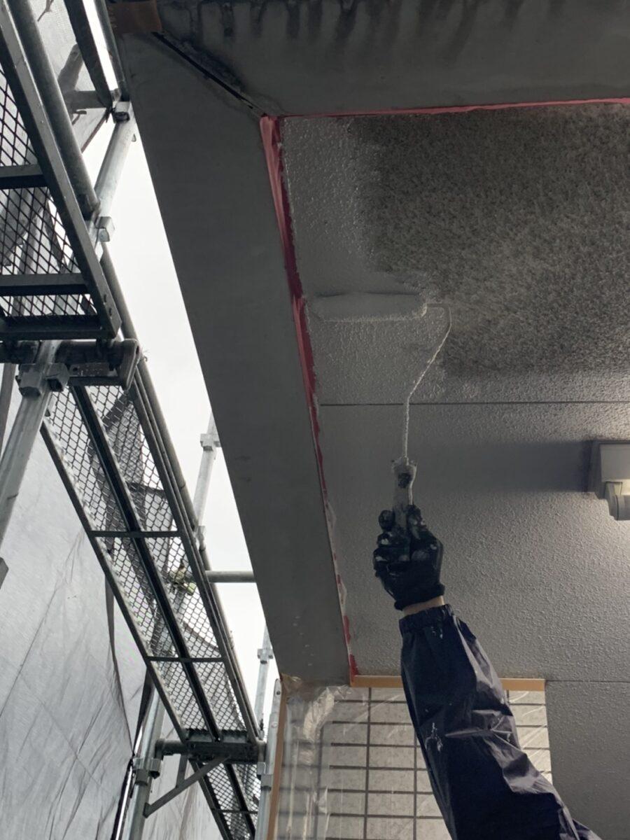 天井塗装の画像