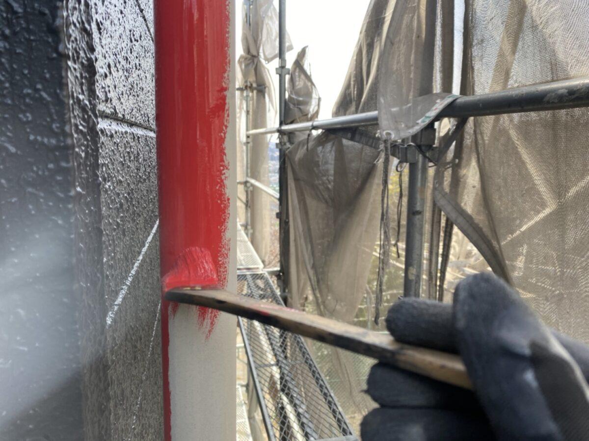 雨樋塗装の画像
