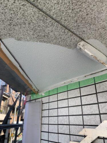 天井の塗装の画像