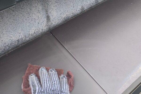 庇のケレンの画像