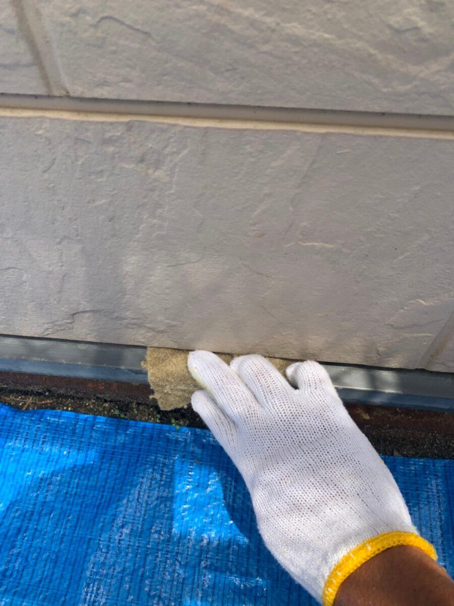 水切りの下地処理の画像